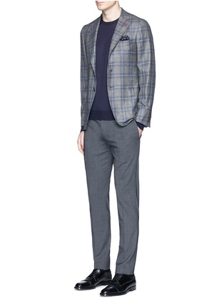 Figure View - Click To Enlarge - ISAIA - Cashmere-silk sweater