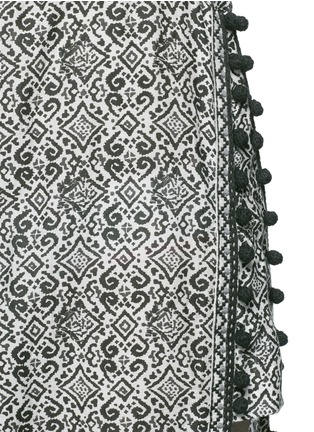 Detail View - Click To Enlarge - Talitha - 'Ira' tribal print cotton-silk cover-up
