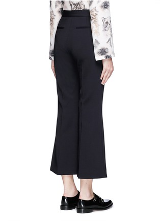 Back View - Click To Enlarge - STELLA MCCARTNEY - 'Angela' wool cropped flared pants