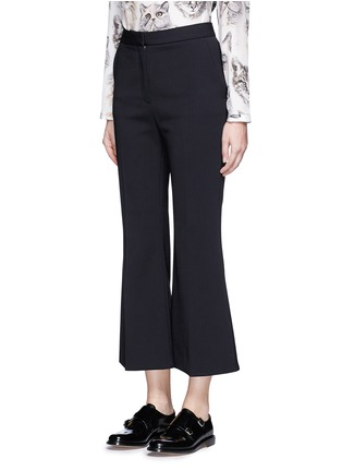 Front View - Click To Enlarge - Stella McCartney - 'Angela' wool cropped flared pants