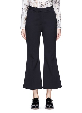 Main View - Click To Enlarge - Stella McCartney - 'Angela' wool cropped flared pants