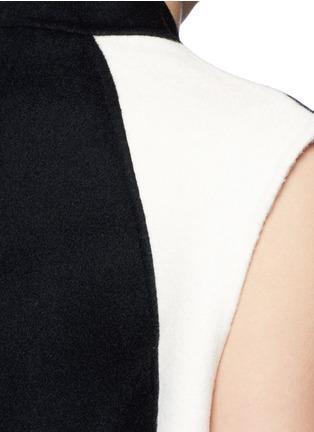 Detail View - Click To Enlarge - RAG & BONE - 'Rockley' splittable wool cocoon vest
