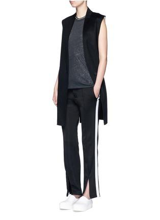 Figure View - Click To Enlarge - rag & bone - 'Rockley' splittable wool cocoon vest