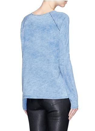 Back View - Click To Enlarge - rag & bone/JEAN - 'Camden' bleach wash cotton T-shirt