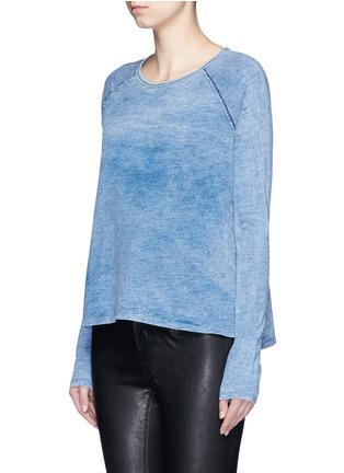 Front View - Click To Enlarge - rag & bone/JEAN - 'Camden' bleach wash cotton T-shirt