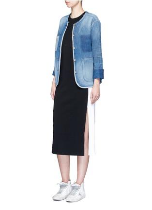 Figure View - Click To Enlarge - rag & bone/JEAN - 'Santa Cruz' pocket denim jacket