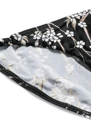 Detail View - Click To Enlarge - Zimmermann - 'Sakura Tuck Tri' floral print bikini set