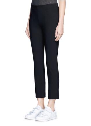 Front View - Click To Enlarge - Vince - Slim fit cotton blend pants