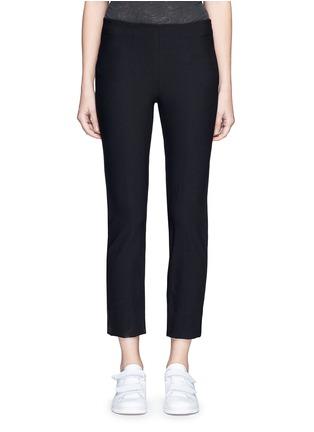 Main View - Click To Enlarge - Vince - Slim fit cotton blend pants