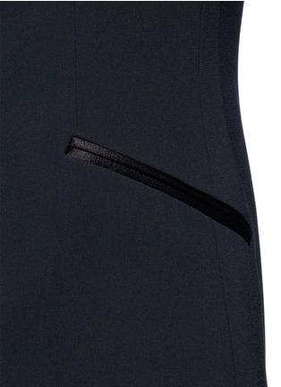 Detail View - Click To Enlarge - ALICE + OLIVIA - 'Mayson' shawl collar long waistcoat