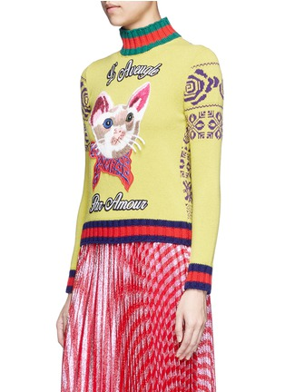 Front View - Click To Enlarge - Gucci - Sweater