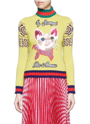 Main View - Click To Enlarge - Gucci - Sweater