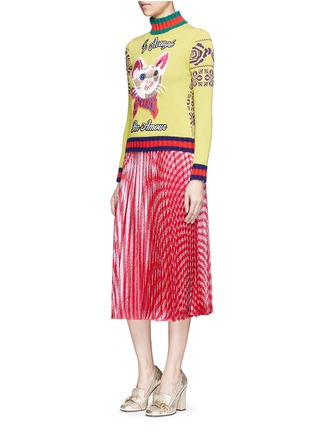 Figure View - Click To Enlarge - Gucci - Sweater