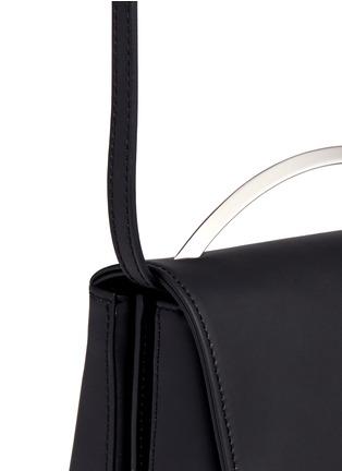 Detail View - Click To Enlarge - Eddie Borgo - 'Boyd' leather vanity bag