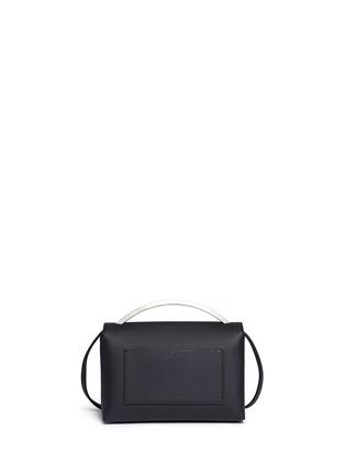 Back View - Click To Enlarge - Eddie Borgo - 'Boyd' leather vanity bag
