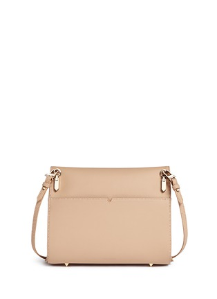 Back View - Click To Enlarge - Eddie Borgo - 'Boyd' large leather clutch