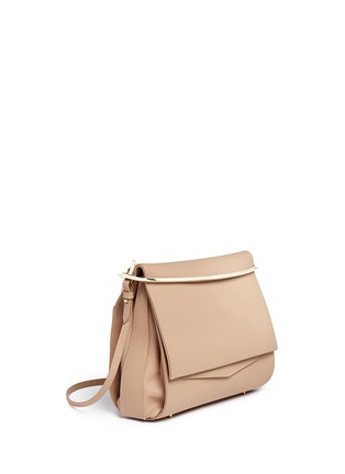 Front View - Click To Enlarge - Eddie Borgo - 'Boyd' large leather clutch