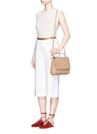 Figure View - Click To Enlarge - Eddie Borgo - 'Boyd' large leather clutch