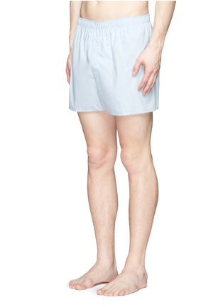 Figure View - Click To Enlarge - Sunspel - 'Classic' cotton boxer shorts