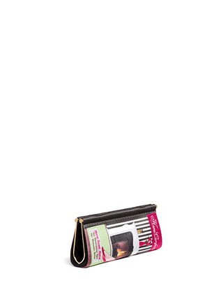 Figure View - Click To Enlarge - Charlotte Olympia - 'Home Comforts' magazine embroidery clutch