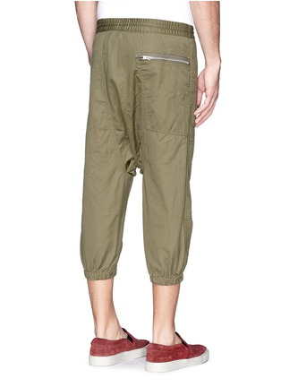 Back View - Click To Enlarge - NLST - Contoured seam cotton flight shorts