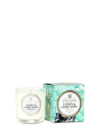 - VOLUSPA - Maison Jardin Linden & Dark Moss scented votive candle