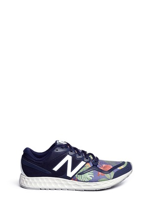 Main View - Click To Enlarge - New Balance - '1980' floral print Fresh Foam Zante sneakers