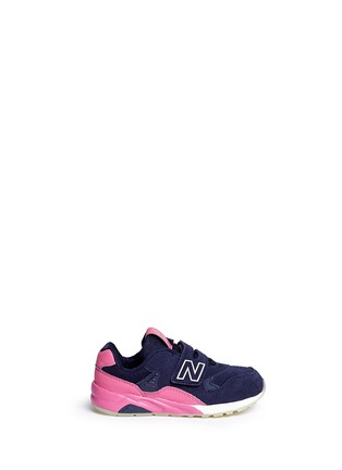 Main View - Click To Enlarge - New Balance - '580' suede toddler sneakers