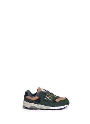 Main View - Click To Enlarge - New Balance - '580' canvas trim toddler sneakers