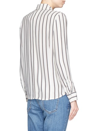 Back View - Click To Enlarge - Frame Denim - 'Le Classic' stripe silk shirt