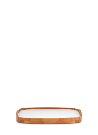 Main View - Click To Enlarge - Stelton - Emma bamboo tray