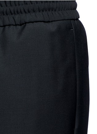 Detail View - Click To Enlarge - Acne Studios - 'Ryder' stretch waist wool-mohair pants
