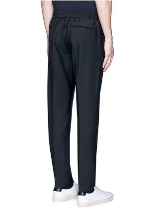 Back View - Click To Enlarge - Acne Studios - 'Ryder' stretch waist wool-mohair pants