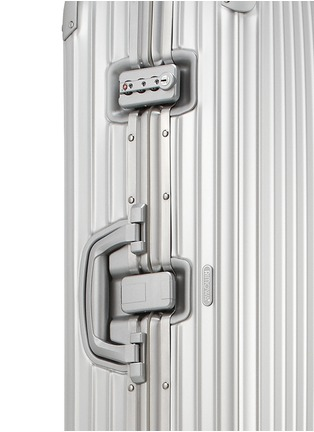 Detail View - Click To Enlarge - RIMOWA - Topas Multiwheel® (Silver, 85-litre)