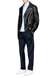 Acne Studios 'Nate' lambskin leather jacket