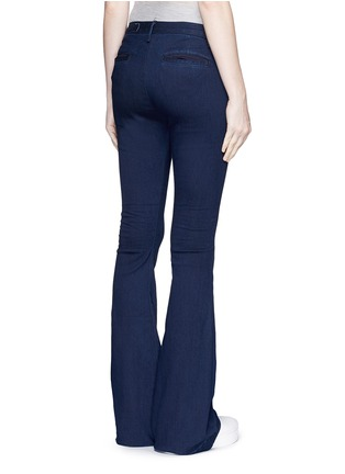 Back View - Click To Enlarge - rag & bone/JEAN - Bell bottom denim pants