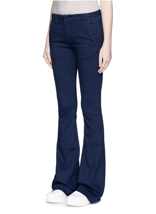 Front View - Click To Enlarge - RAG & BONE/JEAN - Bell bottom denim pants