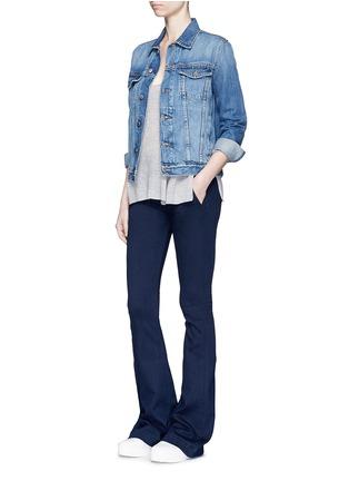 Figure View - Click To Enlarge - rag & bone/JEAN - Bell bottom denim pants