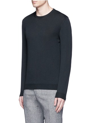 Front View - Click To Enlarge - Incotex - Flexwool sweater