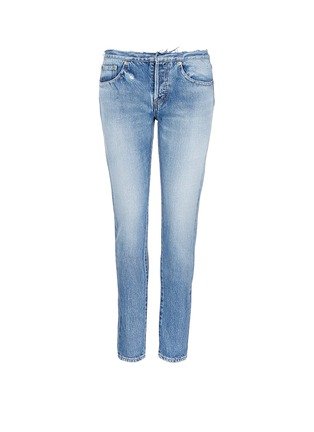Main View - Click To Enlarge - SAINT LAURENT - Original cut waistband boyfriend slim fit jeans