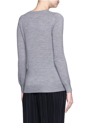 Back View - Click To Enlarge - MARKUS LUPFER - 'Balloon Sailor' bead embellished Emma sweater