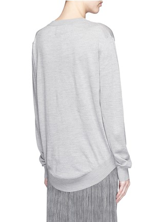 Back View - Click To Enlarge - MARKUS LUPFER - 'Sailor Dog' sequin Joey sweater