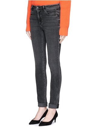 Front View - Click To Enlarge - T By Alexander Wang - 'Wang 001' washed skinny jeans