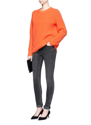 Figure View - Click To Enlarge - T By Alexander Wang - 'Wang 001' washed skinny jeans