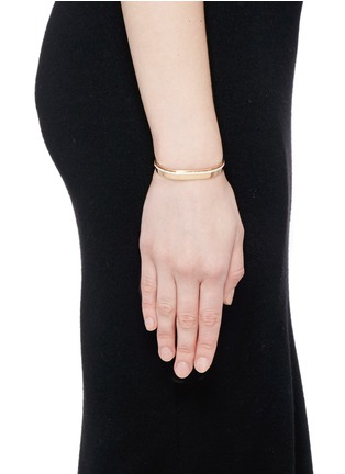 Figure View - Click To Enlarge - Messika - 'Kate' diamond 18k rose gold bangle