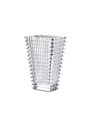 Main View - Click To Enlarge - BACCARAT - Eye small rectangular vase - Clear