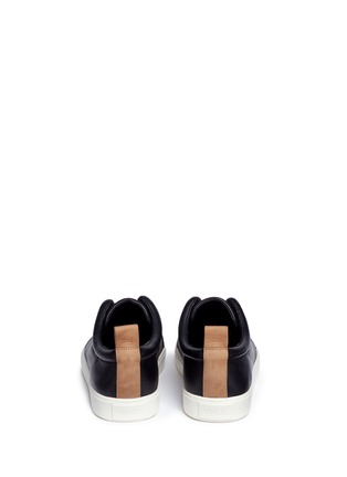 Back View - Click To Enlarge - Vince - 'Caden' leather slip-on sneakers
