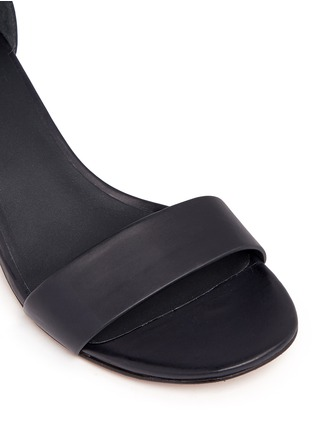 Detail View - Click To Enlarge - Vince - 'Raine' wraparound ankle strap sandals