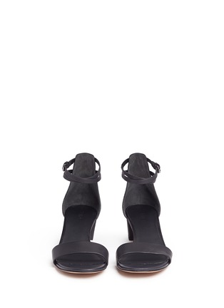 Front View - Click To Enlarge - Vince - 'Raine' wraparound ankle strap sandals