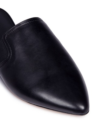 Detail View - Click To Enlarge - Vince - 'Nadette' leather slippers